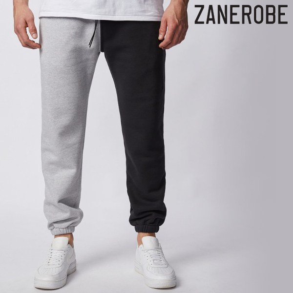 ZANEROBE/ゼインローブ/SPLICE JUMPA SWEAT FLEECE JOGGER/スウェットパンツ/GRAY BLACK/グレー×ブラック/ジョガーパンツ/スポーティー/ストリート/メンズ/送料無料/新作/