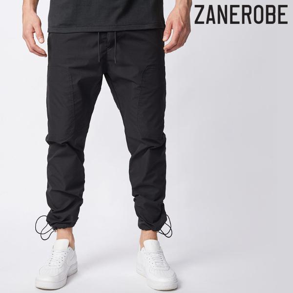 ZANEROBE/ゼインローブ/JUMPA TECH PANT/ナイロンパンツ/BLACK/ブラック/テックパンツ/ジョガーパンツ/スポーティー/ストリート/メンズ/送料無料/新作/