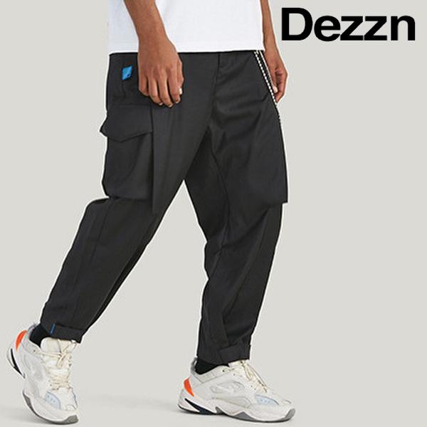 DEZZN/デジーン/WALKER SPECIAL TROUSER/ブラックパンツ/BLACK/黒/ポケットパンツ/テーパード/サルエル/ストリート/正規取扱/正規店/メンズ/送料無料/新作/