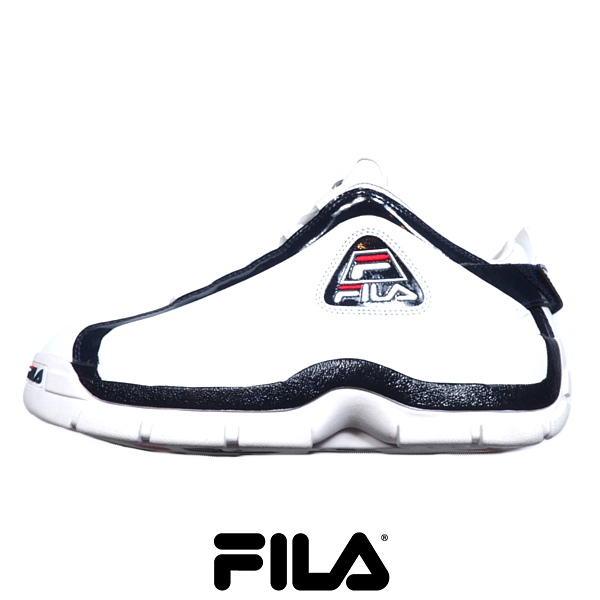 FILA/フィラ/Grant Hill 96GL/ローカット/スニーカー/WHITE×NAVY/ホワイト×ネイビー/シグネチャーモデル復刻版/グラントヒル/NBA/バスケットシューズ/2PAC/シューズ/靴/メンズ/紳士/