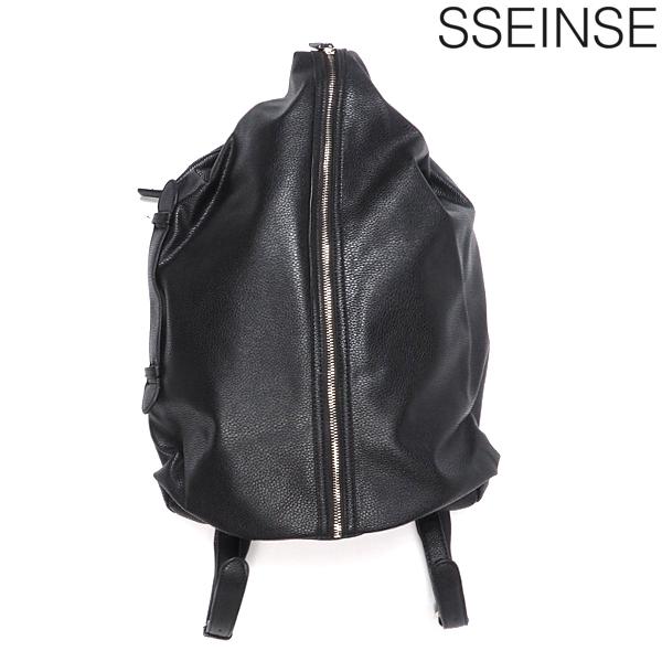 SSEINSE/センス/バックパック/ブラック/黒/BLACK/合成皮革/フェイクレザー/リュック/カバン/イタカジ/送料無料/新作/