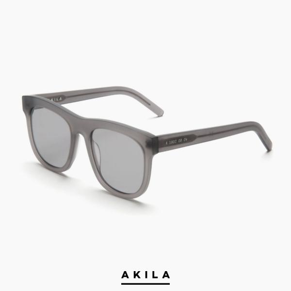 AKILA/アキラ/Genesis/サングラス/GRAY/グレー/ビッグフレーム/眼鏡/メガネ/ロサンゼルス/ロス/USA/メンズ/送料無料/新作/