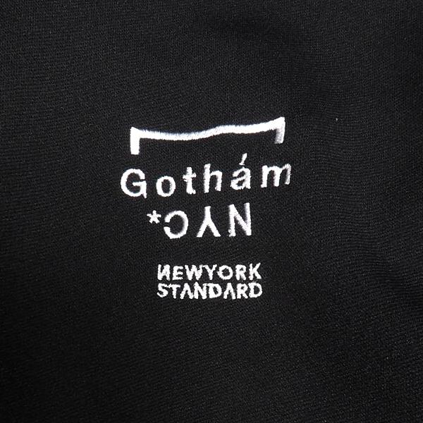 GOTHAMNYCTAPECODE-ZPジップジャケットジャージセットアッププリントBLACK/REDブラック/レッド黒/赤上下セットロゴスキニージャージスキニーパンツフードジップパーカーゴッサムストリートカジュアルメンズレディースユニセックス送料無料あす楽