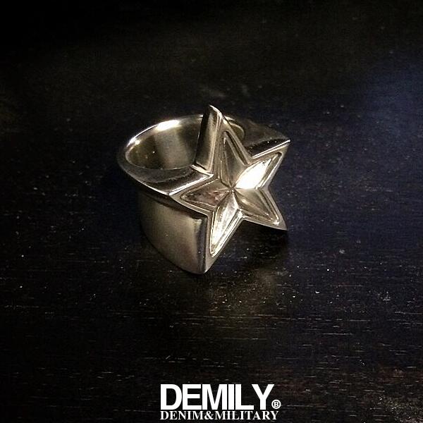 SALE在庫限りDEMILYデミリースターリング[STARRING]SILVERシルバー指輪シルバーアクセサリーメンズ/レディース送料無料