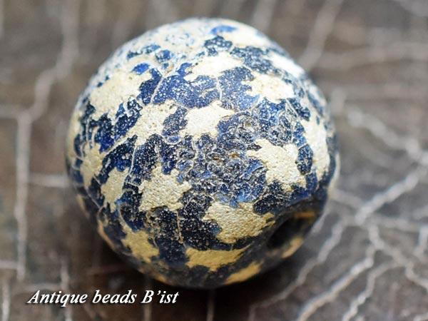 【1606】ジャワ島出土アンティークビンタン玉【とんぼ玉】【トンボ玉】【送料無料】【ビーズ】【パーツ】【骨董】【antiqubeads】【beads】【アンティークビーズ】【ジャワビーズ】【ハンドメイド】
