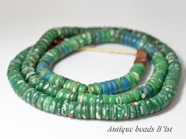 【1609】ANTQボヘミアカンカンバMIXビーズ一連A10【とんぼ玉】【アンティークビーズ】【ビーズ】【パーツ】【チェコ】【送料無料】【antiquebeads】【beads】【骨董】