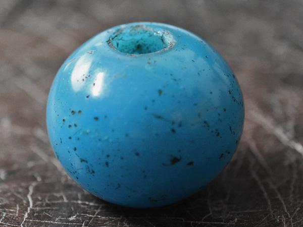 【2001】江戸とんぼ玉 半透明青緑色円形扁平特大玉1【とんぼ玉】【トンボ玉】【送料無料】【骨董】【根付】【和玉】【アンティークビーズ】【antiquebeads】【beads】