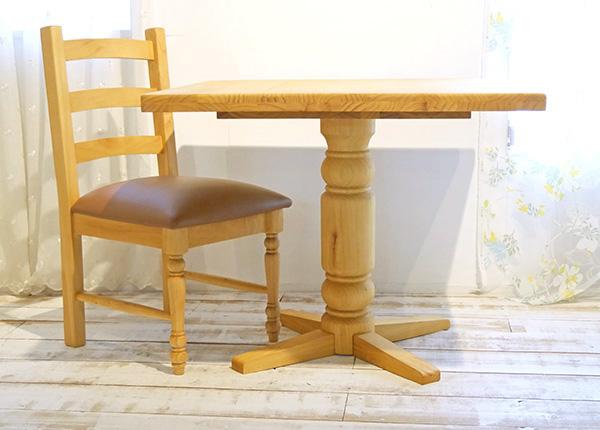 【カントリーパイン90cmダイニングテーブルチェアセットbj-bav90lr-gan1-na】パインカフェテーブル/カントリーパインテーブルセット