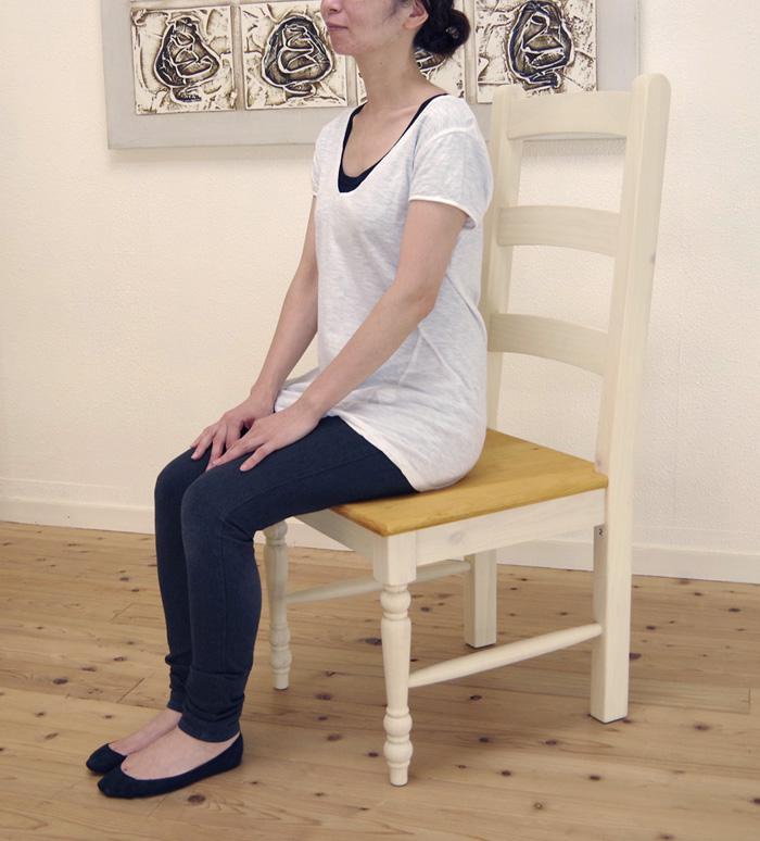 新しい季節 座面高42cm 木製ダイニングチェア フレンチカントリー 白いカントリー調 座面高42cm ハイバックダイニングチェア シンプルなデザインの木製椅子, GOTHIC TOKYO:a80c2a0f --- canoncity.azurewebsites.net