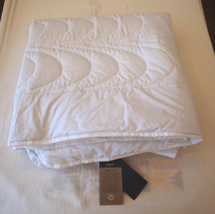 【快眠寝具/ベッド敷きパッド/キャメルウール100%】セミダブルベッドマット用パッド