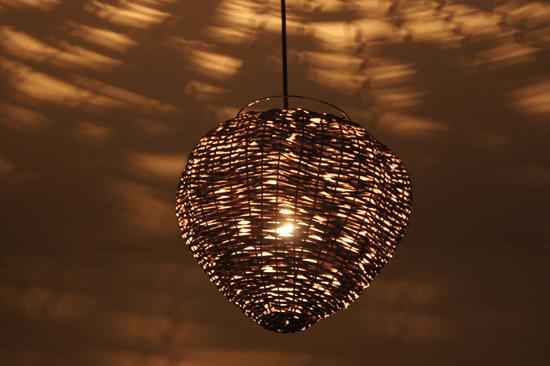 【送料無料!】電球、コード付!バンブーアジアペンダントランプ! NL-064 / インテリア照明 間接照明 シーリングライト 天井 吊下げ 照明器具 アジアンランプ アジアンインテリア アジアン家具