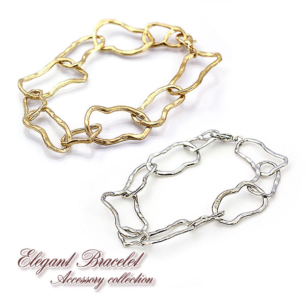 Simple Bracelets Gold Silver Stylish Yu Packet Elegant Cly Las Women S Cool Fashionable Bracelet Chain Gift Go Congratulate