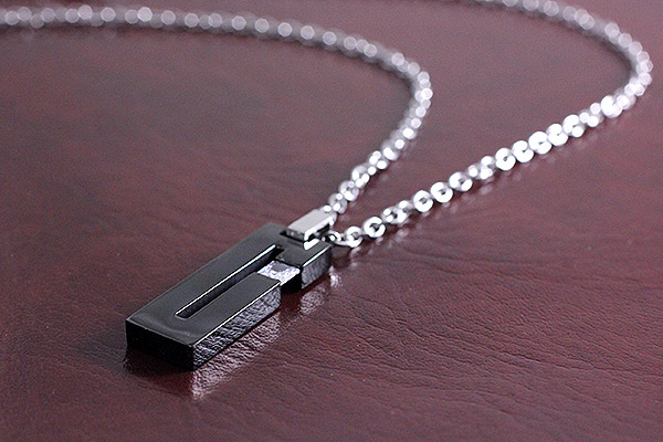 Stainless Steel Pendant Necklace Mens