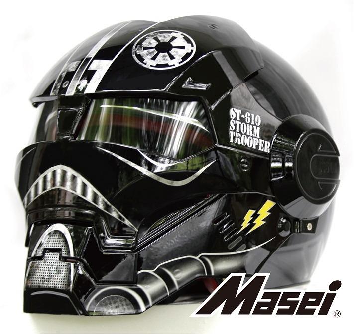 【送料無料!!】フルフェイス ヘルメット US ArmyStorm Trooper610 ブラック Masei(マセイ)コスプレ/コミケ/コミックマーケット