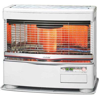 トヨトミ 赤外線と温風のダブル暖房 FF式ストーブ(木造~18畳/コンクリート~29畳) FR-S70D リビルト品