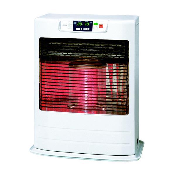 トヨトミ 赤外線と温風のダブル暖房 FF式石油ストーブ FR-V5501 ホワイト (木造~15畳/コンクリート~23畳) リビルト品
