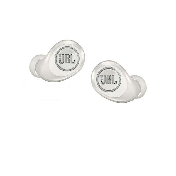 JBL フルワイヤレスイヤホン JBLFREEXWHTBT ホワイト [リモコン・マイク対応 /防水&左右分離タイプ /Bluetooth]