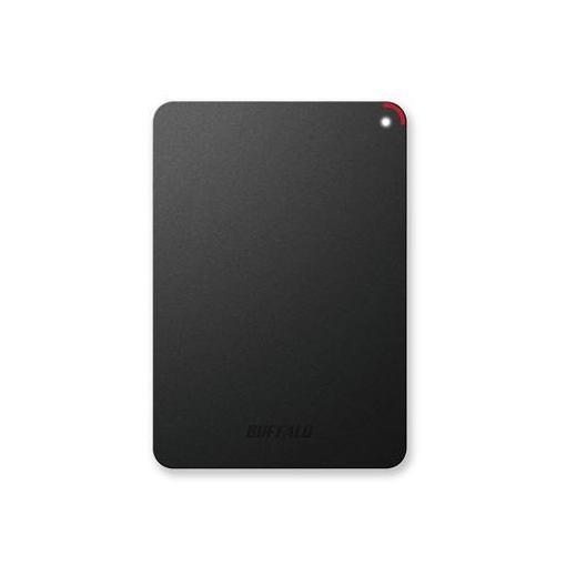 バッファロー HD-PSF4.0U3-GB ミニステーション ターボPC EX2 Plus対応 耐衝撃&USB3.0ポータブルHDD ブラック 4TB