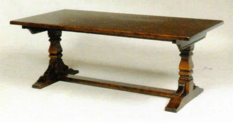 テーブル OLD CARM(オールドチャーム)シリーズ  アンティーク風 OC2928DAコーヒーテーブル/リビングテーブル 【送料無料】