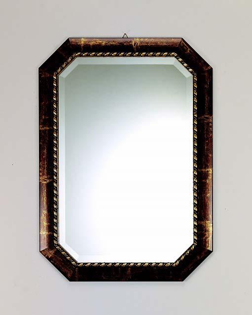 イタリア製 壁掛けミラー OT 金/ゴールド色入りウォールミラー 【BERTOZZI】ベルトーチ社【送料無料】