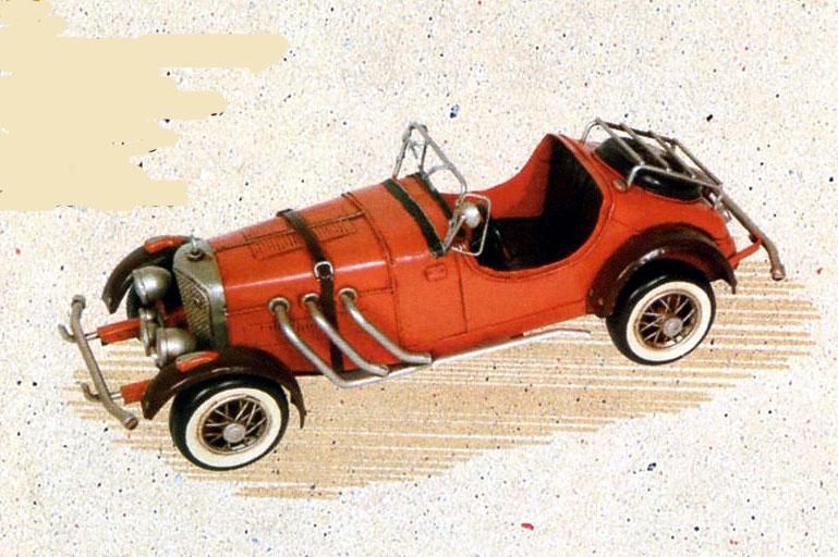 クラシックカー レーシングカー レトロカー アンティーク調 ブリキのオブジェ TIN TOYS 27514【送料無料】