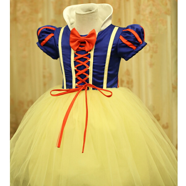 Halloween disguise costume kids child KD5 for the child Princess dress  child of the Halloween costume play clothes princess Snow White child dress