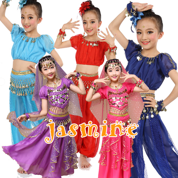 f4f6f0077dda Children's arazincospre children Halloween cosplay / Disney costume /  Aladdin / children costume belly dance costume ...