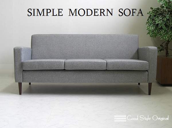 Upholstered Sofa 3 Person Sofa Couch 3 P Modern Oder Sofa Fabric Domestic  Retromodern
