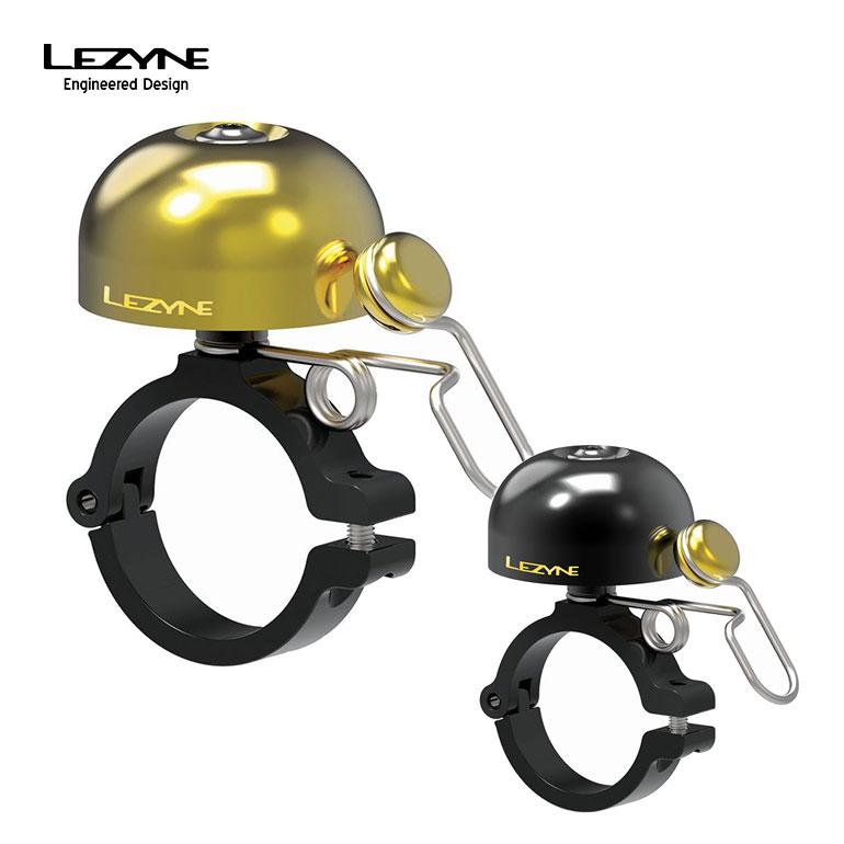 LEZYNE レザイン 自転車 アクセサリ サイクルベル 土日もあす楽 アクセサリー ベル CLASSIC BRASS ブラック HM ブラス ステンレススチールスプリング BELL コンパクト 真鍮製ドーム アルミニウム合金製ハンドルバーマウント 重量34g 35%OFF アルミ製ベース 価格