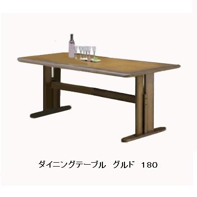 180 ダイニングテーブル グルド135幅も有ります。材質:ラバーウッド材2本脚タイプのみカラー:ブラウン色アンティーク塗装要在庫確認