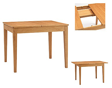 ダイニングテーブル BOSCO(ボスコ)90(150)cm DT51903Q-OM000伸張式 いろいろの椅子と組み合すことができます送料無料(玄関前配送)北海道、沖縄、離島は別途お見積り