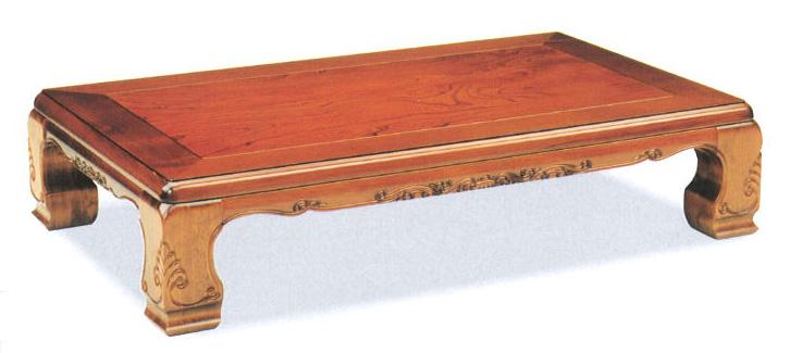 座卓 150 雲仙 ケヤキ硬質ウレタン仕上げ送料無料(沖縄、北海道、離島は除く)代金引換不可商品