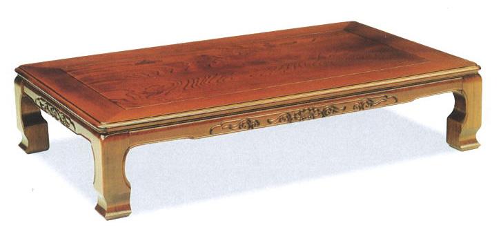 讃岐の座卓 135 風月 ケヤキウレタン仕上げ送料無料(沖縄、北海道、離島は除く)代金引換不可商品