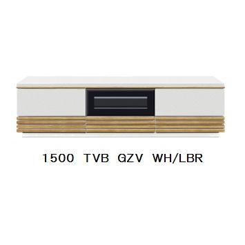 GZV 150 TVB2色対応(BK/WN・WH/LBR)UV塗装(ピカピカ仕上げ)引出し:フルオープンレール付開梱設置送料無料 北海道・沖縄・離島は除く