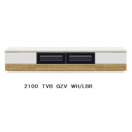 GZV 210 TVB2色対応(BK/WN・WH/LBR)UV塗装(ピカピカ仕上げ)引出し:フルオープンレール付開梱設置送料無料 北海道・沖縄・離島は除く