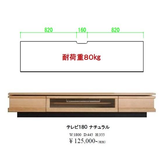 モリタインテリア製 180TVボード ジオ2色対応(RN/ON)RN:ウォールナット材/ON:ホワイトオーク材セラウッド塗装レール付き引出し、背面化粧仕上げ。開梱設置送料無料(北海道・沖縄・離島は除く)