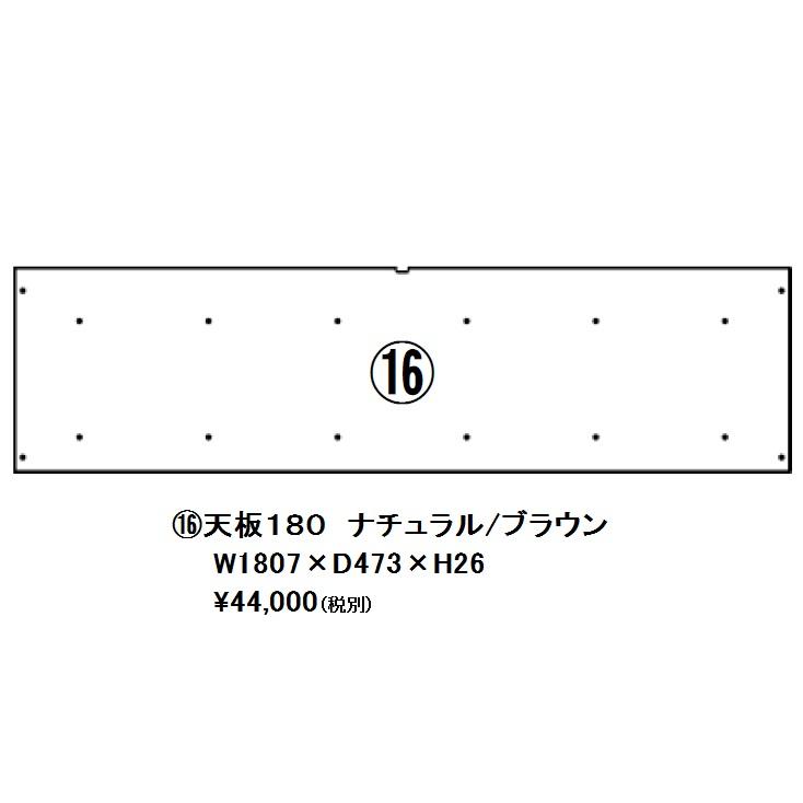 モリタインテリア製 国産品 天板180 レルタ2色対応:NA・BR セラウッド塗装センターに30mm×10mmの配線サクリ付送料無料玄関前まで(北海道・沖縄・離島は除く)