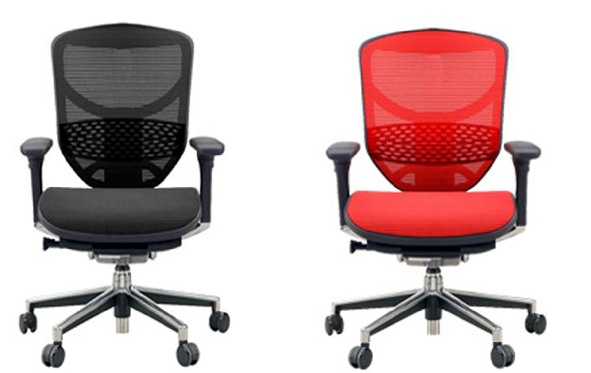 オフィスチェアー エルゴヒューマンエンジョイL  3dファブリック、エラストメリックメッシュ全12色対応[玄関前配送の場合、送料無料] (北海道・沖縄・離島は除く)代引きはできません