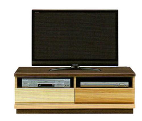 日本製  森のハーモニーシリーズ107TVボード テイク グラデーションホルムアルデヒド規制対応天板には、利便性を考えて、2口コンセントを装備送料無料(玄関渡し)、北海道・沖縄・離島は除く要在庫確認