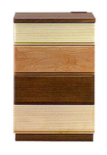 日本製  森のハーモニーシリーズ50-4チェスト テイクグラデーションホルムアルデヒド規制対応天板には、利便性を考えて、2口コンセントを装備送料無料(玄関渡し)、北海道・沖縄・離島は除く要在庫確認