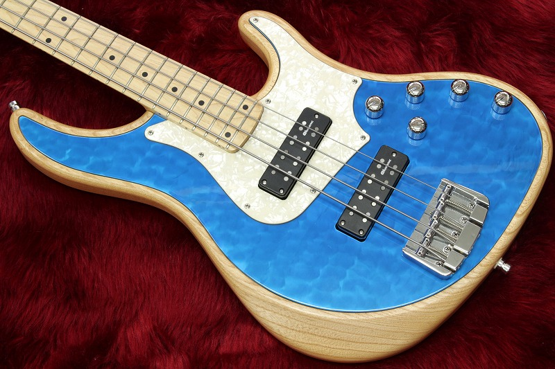 【new】Alusonic Custom Shop J-Special Deluxe 4 Natural / Blue 3.69kg #1601206