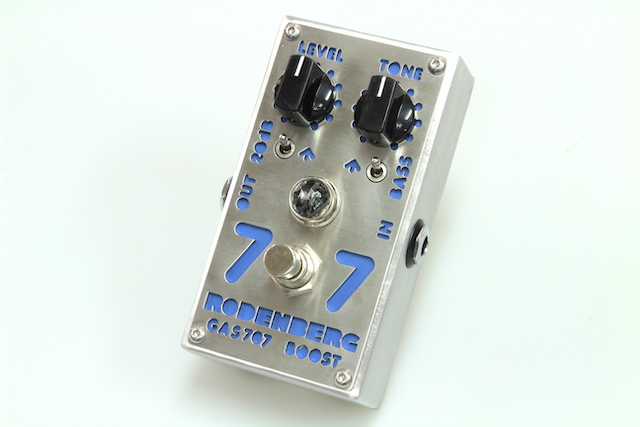 RODENBERG AMPLIFICATION GAS-808 NG Overdrive for guitar【新品】【エフェクター】【ブースター】