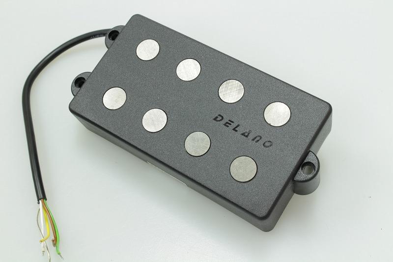 【new】DELANO MC 4 AL Delano 4-string dual coil humbucker pickup【ピックアップ】【デラノ】