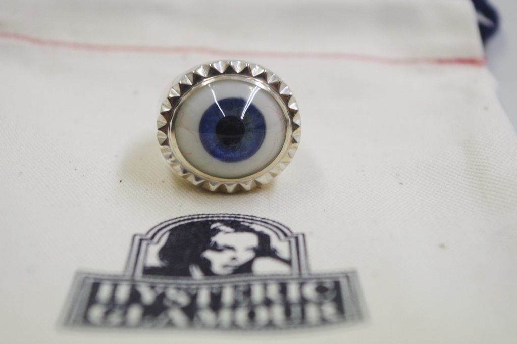 HYSTERIC GLAMOURヒステリックグラマー BEADED EYE リング