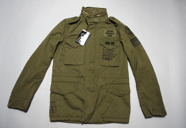 特価 HYSTERIC GLAMOUR F.U.UNITY M-65 ジャケット【96fms】
