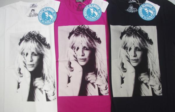 HYSTERIC GLAMOUR ヒステリックグラマーCL/EVERY GIRL IN THE WORLD pt T-SH コートニー・ラブTシャツ
