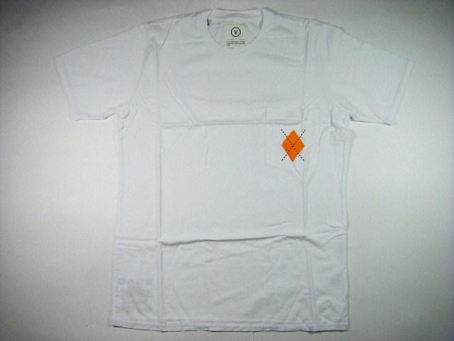 VISVIM ヴィズヴィム DIAMANTE POCKET TEE S/S オレンジ