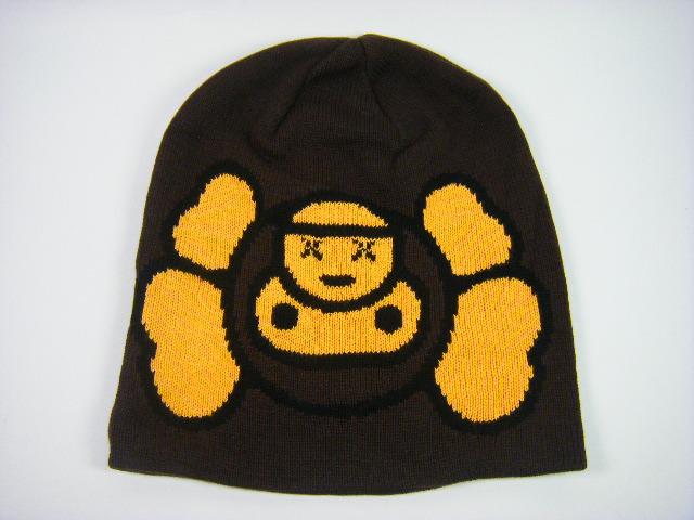 Bid Land  BAPE ape x KAWS MILO Milo Beanie Brown  51ca2c3c9de