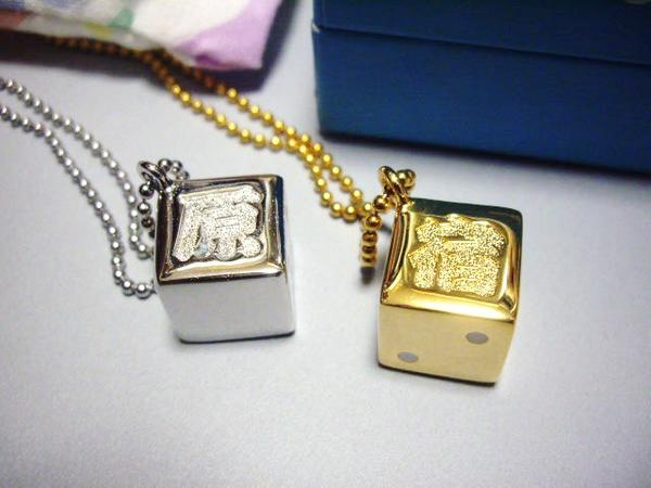 SWAGGER スワッガー 原宿オープン記念 限定 サイコロネックレス金銀