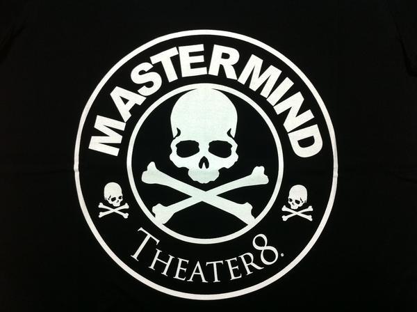 Mastermind JAPAN 마스터 마인드 재팬 × Theater8 극장 실행 전 スタバロゴ 파커 SW01